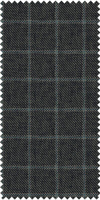 Belmonte Ash Grey Checkered Tweed Custom Suit