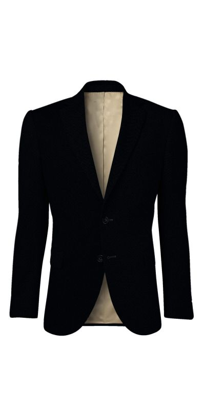 Amboise Melange Black Tweed Jacket