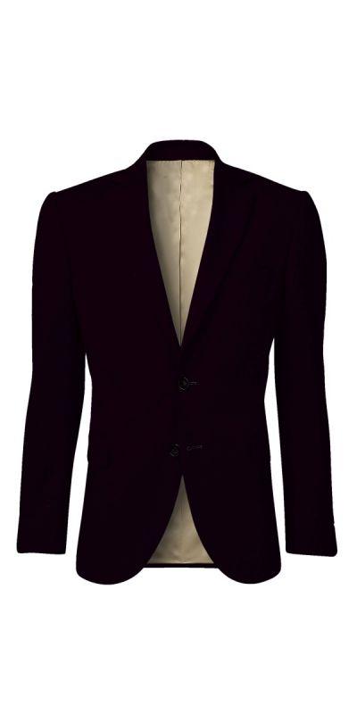 Eilean Donan Deep Burgundy Custom Jacket