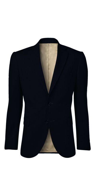 Knight Fort Deep Indigo Blue Custom Jacket