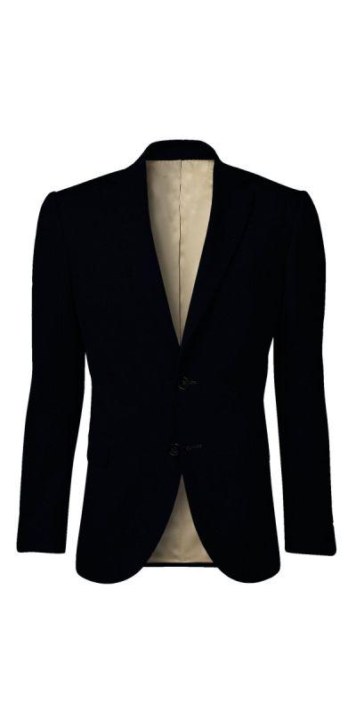 Malbork Sateen Black Custom Jacket