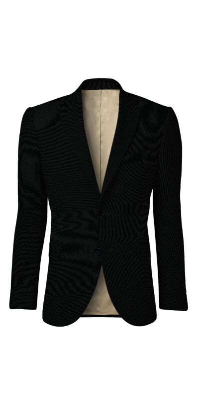 Wartburg Black BirdsEye Custom Jacket