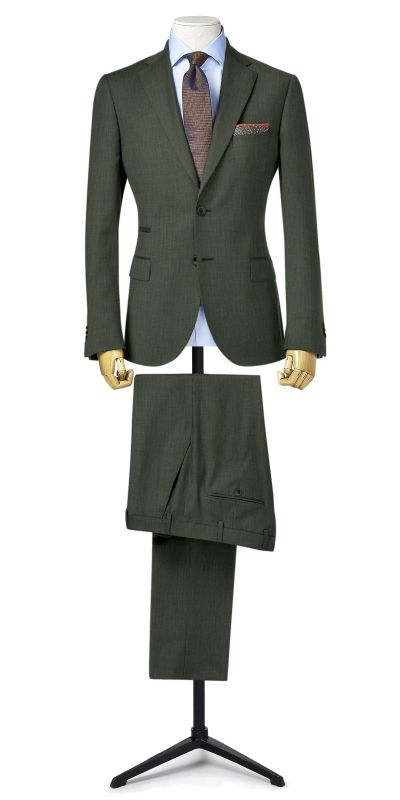 Warwick Ash Grey Custom Suit