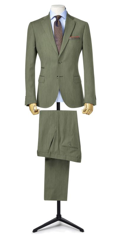 Corlise Limestone Grey Custom Made Suit