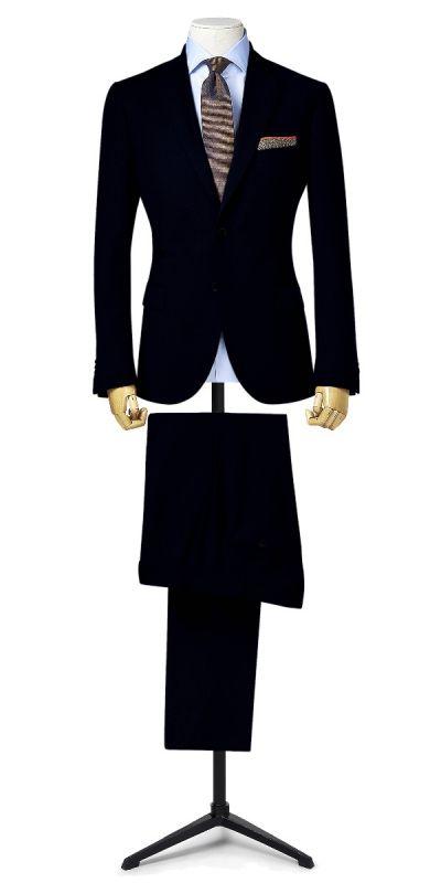 Leeds Midnight blue Custom Pants