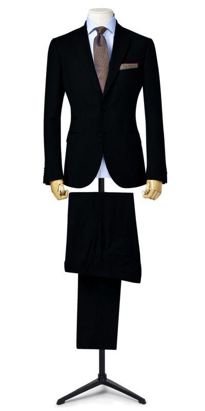 Berkeley Black custom pants