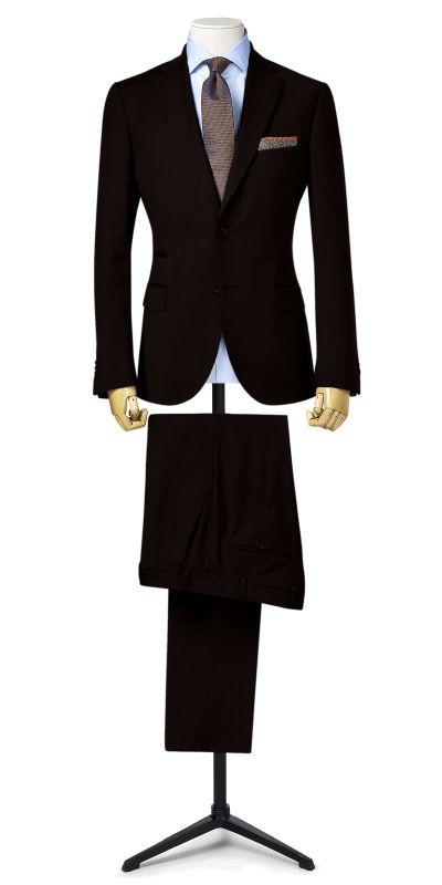 Malbork Coffee Brown Suit