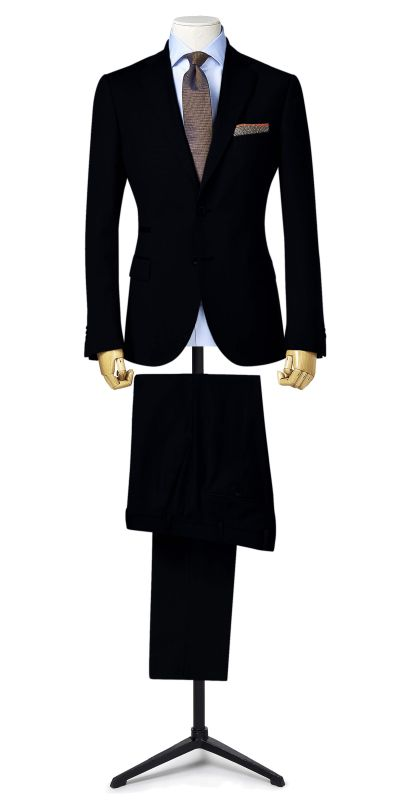 Canterbutu Dark Navy Custom Suit