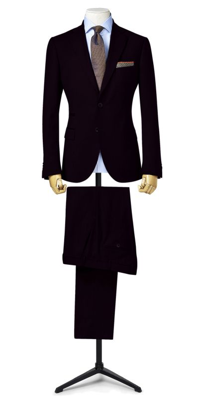 Eilean Donan Deep Burgundy Custom Suit