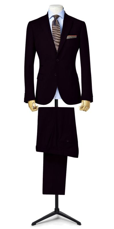 Eilean Donan Deep Burgundy Custom Pants