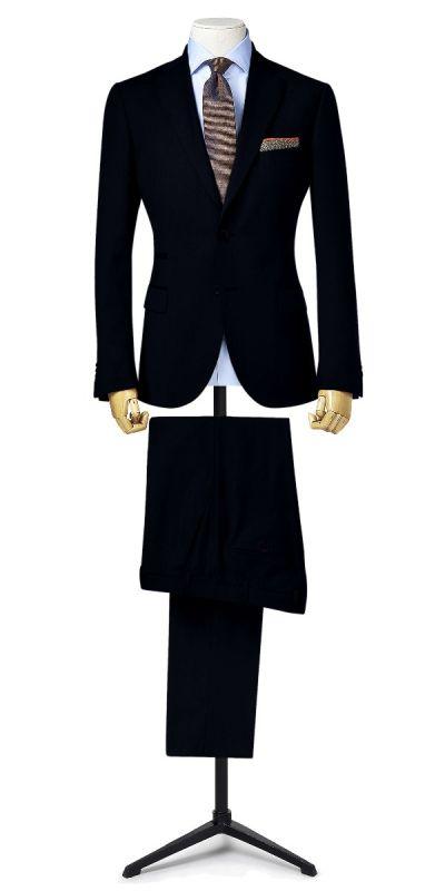 Knight Fort Deep Indigo Blue Custom Pants