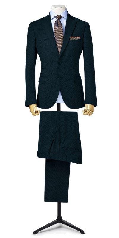Balmoral Cobalt Blue Plaid pants