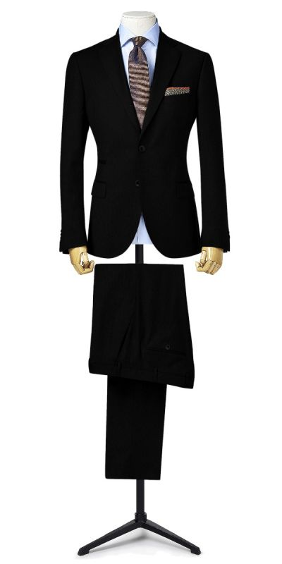Wartburg Black BirdsEye Custom pants