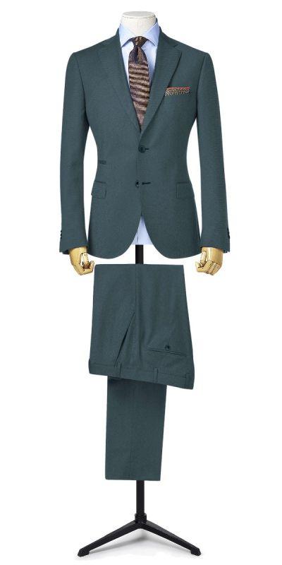 Osaka Steel Grey Matty Weave Custom Pants