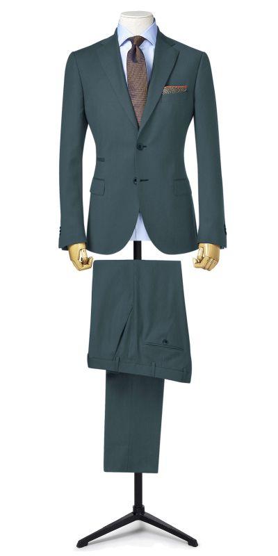 Osaka Steel Grey Matty Weave Custom Suit