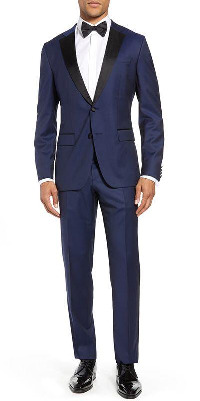 Navy Blue Custom Tuxedo